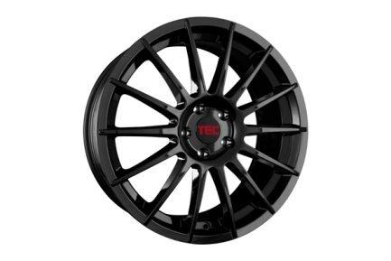 TEC Speedwheels AS2 Black glossy CB: 65.1 7.5x17 ET: 38 - 5x110