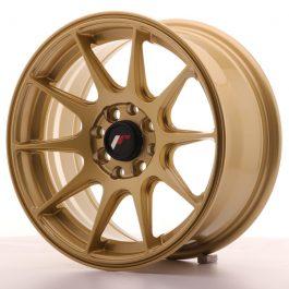 Japan Racing JR11 15×7 ET30 4×100/108 Gold