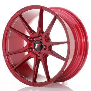 Japan Racing JR21 18×8,5 ET40 5×112 Platinum Red