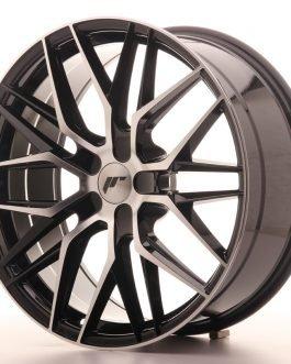JR Wheels JR28 20×8,5 ET35 5×112 Gloss Black Machined Face (Poisto)