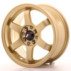 Japan Racing JR3 15×7 ET40 4×100/114 Gold