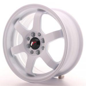 Japan Racing JR3 15×7 ET25 4×100/108 White