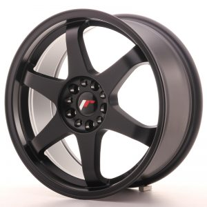 Japan Racing JR3 18×8 ET40 5×112/114 Matt Black