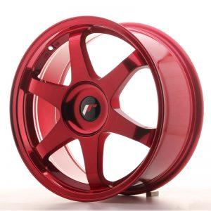 Japan Racing JR3 18×8 ET20-40 Blank Platinum Red