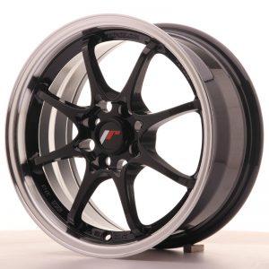 Japan Racing JR5 15×7 ET35 4×100 Gloss Black