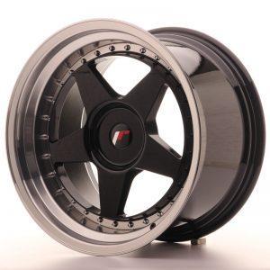 Japan Racing JR6 18×10,5 ET0-25 Blank Glossy Black