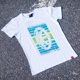 JR Men T-Shirt JR-20 Face White Size S