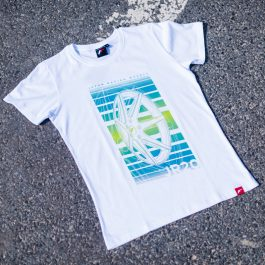 JR Men T-Shirt JR-20 Face White Size XL