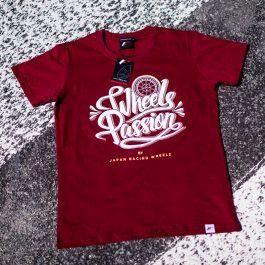 JR Men T-Shirt Passion RubyRed Size M
