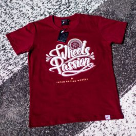 JR Men T-Shirt Passion RubyRed Size S