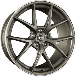 TEC Speedwheels GT6 Dark grey polished lip CB: 72.5 8.5×20 ET: 30 – 5×112