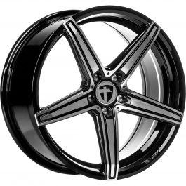 Tomason TN20 Dark Hyper black polished 8.5×19 ET: 30 – 5×112