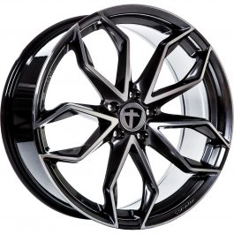 Tomason TN22 Dark Hyper black polished 8.5×20 ET: 30 – 5×112