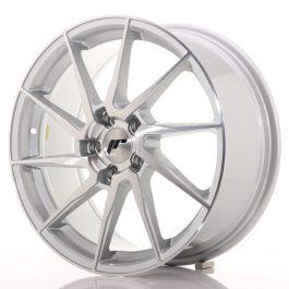 Japan Racing JR36 18×8 ET45 5×112 Brushed Silver