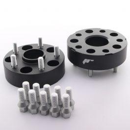 JRWA1 Adapters 40mm 5×112 66,6 66,6 Black