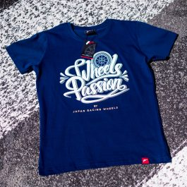 JR Men T-Shirt Passion NavyBlue Size XL
