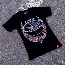 JR Women T-Shirt JR-21 Laurel Black Size M