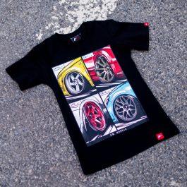 JR Women T-Shirt MIX Black Size M