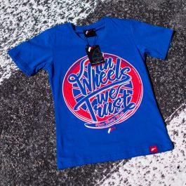 JR Women T-Shirt Trust Blue Size XS