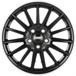CMS C23 Diamond Rim Black 8×18 ET: 46 – 5×112