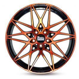 MAM B2 Black Front Orange 8×18 ET: 45 – 5×112