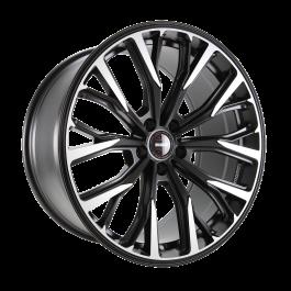 MOMO RF02 Black matt polish 10×20 ET: 40 – 5×120