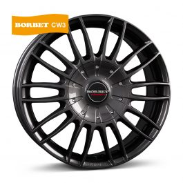 Borbet CW 3 mistral anthracite glossy 7.5×18 ET: 53 – 5×118