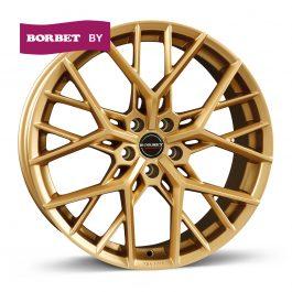 Borbet BY gold matt 8×20 ET: 25 – 5×112