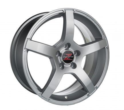 Barzetta Inverno Silver 7.5x18 ET: 42 - 5x108