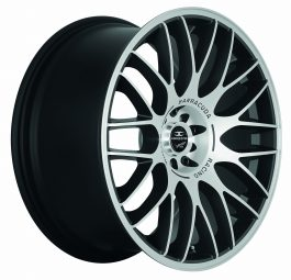 Barracuda KARIZZMA Mattblack-polished 8.0×18 ET: 32 – 5×100