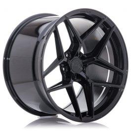 Concaver CVR2 20×10 ET45 5×112 Platinum Black