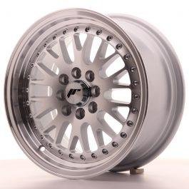 JR Wheels JR10 15×7 ET30 4×100/108 Silver Machined Face
