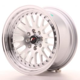 JR Wheels JR10 15×8 ET15 5×100/114 Silver Machined Face