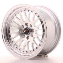JR Wheels JR10 15×8 ET20 4×100/108 Silver Machined Face