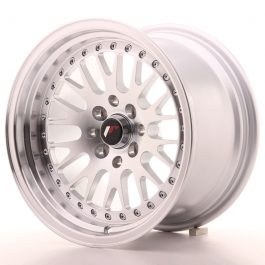 JR Wheels JR10 15×9 ET10 5×100/114 Silver Machined Face