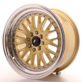 JR Wheels JR10 16×8 ET10 4×100/114 Gold w/Machined Lip