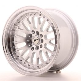 JR Wheels JR10 16×9 ET10 5×100/114 Silver Machined Face
