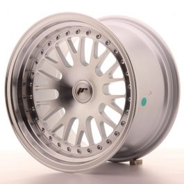 JR Wheels JR10 16×9 ET10-20 BLANK Silver Machined Face
