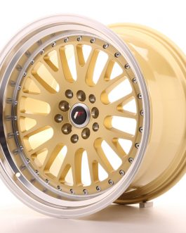 JR Wheels JR10 18×10,5 ET25 5×112/114,3 Gold w/Machined Lip