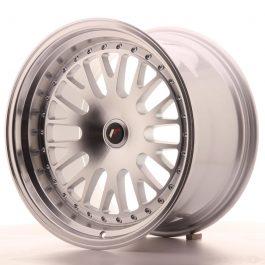 JR Wheels JR10 18×10,5 ET12-25 BLANK Silver Machined Face