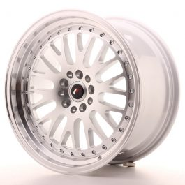 JR Wheels JR10 18×9,5 ET18 5×100/112 Silver Machined Face