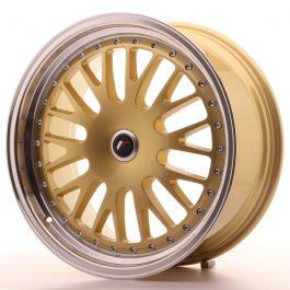JR Wheels JR10 19×8,5 ET20-35 BLANK Gold w/Machined Lip
