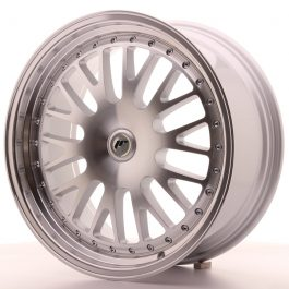 JR Wheels JR10 19×8,5 ET20-35 BLANK Silver Machined Face