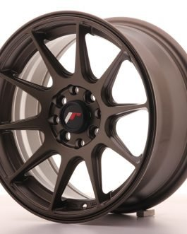 JR Wheels JR11 15×7 ET30 4×100/114 Matt Bronze