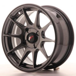 JR Wheels JR11 15×7 ET30 4H BLANK Dark Hyper Black