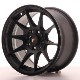 JR Wheels JR11 15×8 ET25 4×100/114 Flat Black