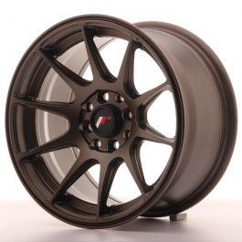 JR Wheels JR11 15×8 ET25 4×100/108 Matt Bronze