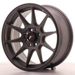 JR Wheels JR11 16×7 ET30 5×100/114 Matt Gun Metal