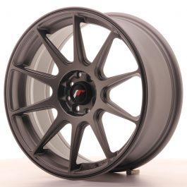 JR Wheels JR11 17×7,25 ET25 4×100/108 Matt Gun Metal