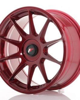 JR Wheels JR11 17×8,25 ET35 5×108 Platinum Red (Poisto)